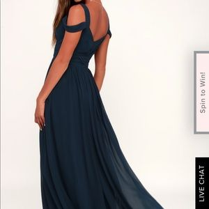 Maxi Medium Ocean of Elegance dress from Lulus
